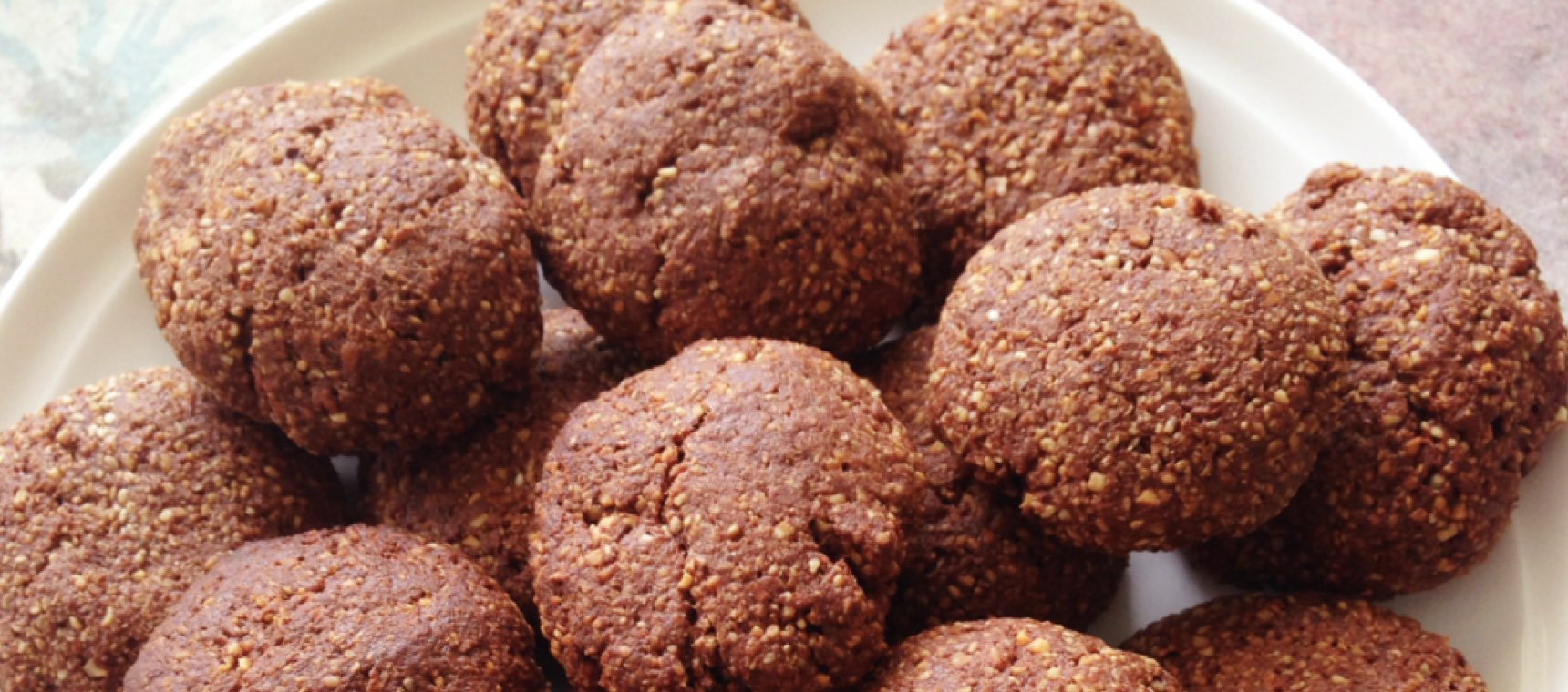 Clean Chewy Choc Cookies