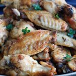Lemon and Thyme Chicken Wings
