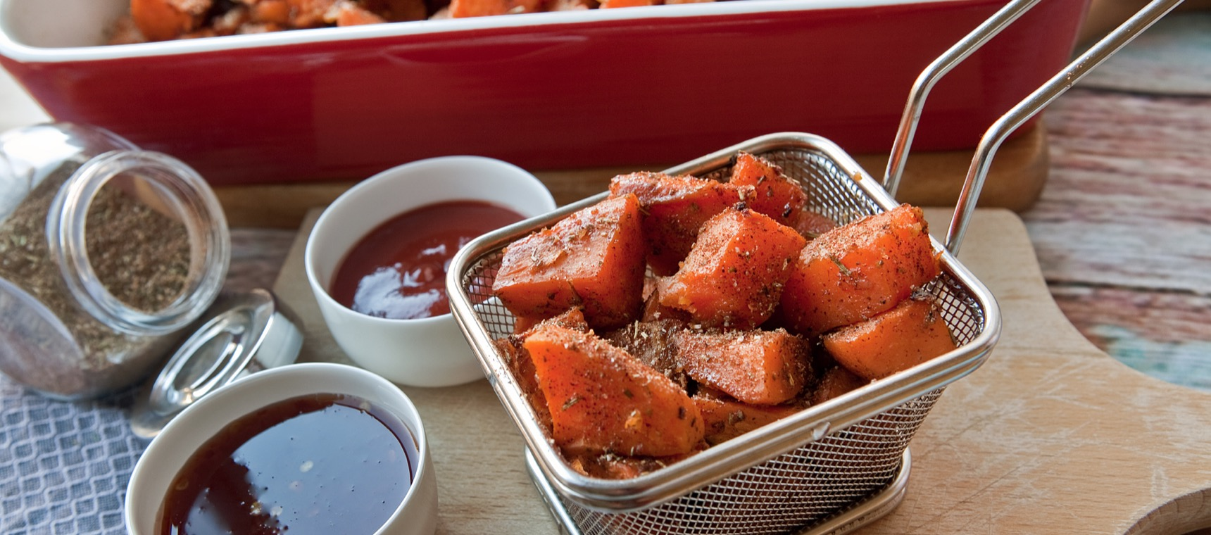 Seasoned Sweet Potato Bites