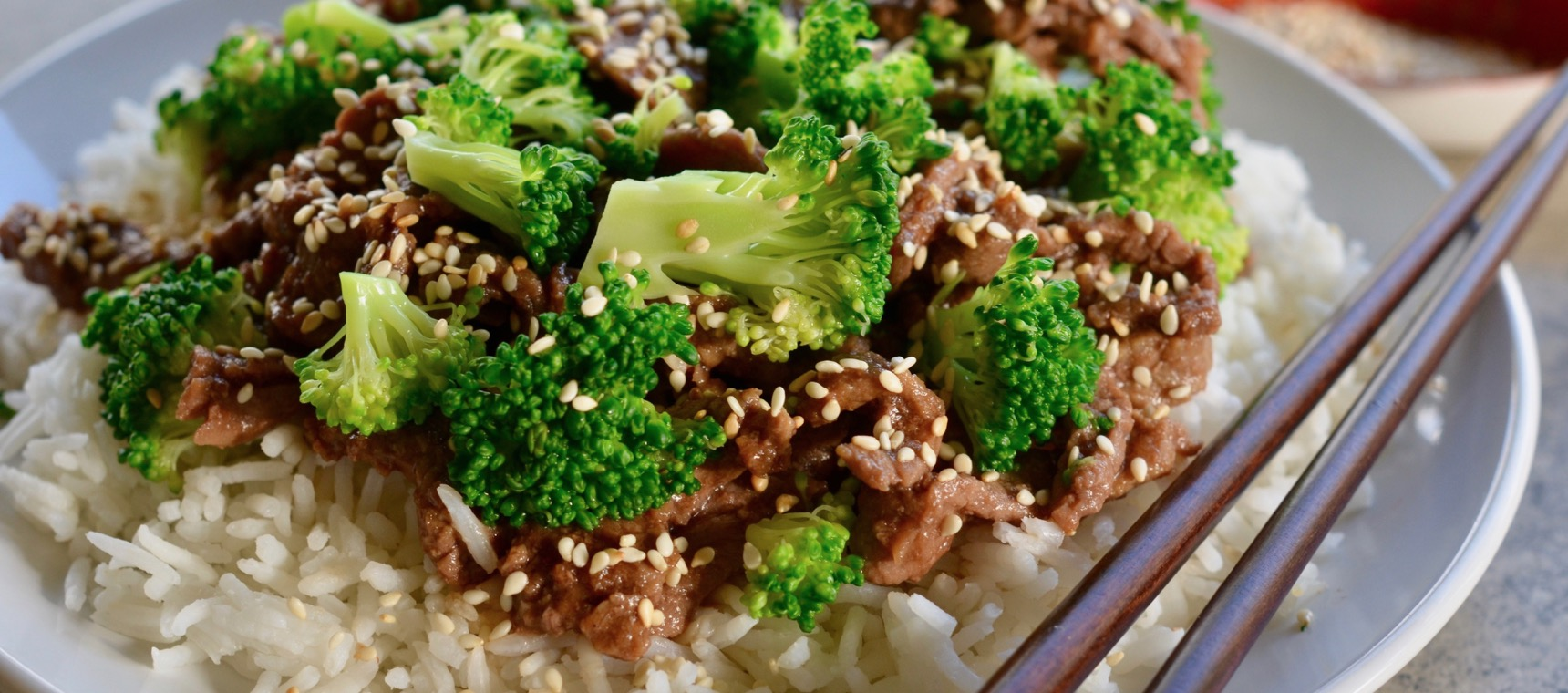 Slow Cooked Beef and Broccoli