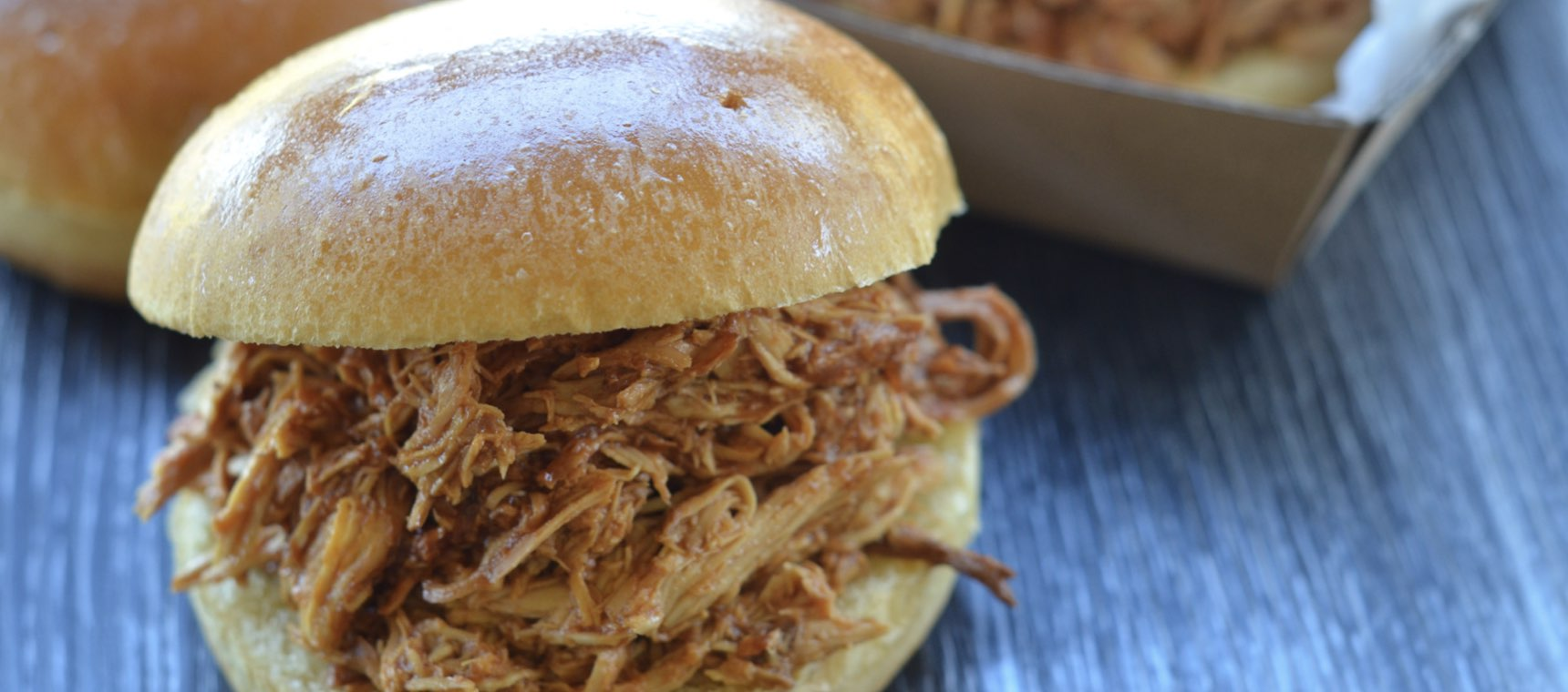 Slow Cooked Pulled BBQ Chicken