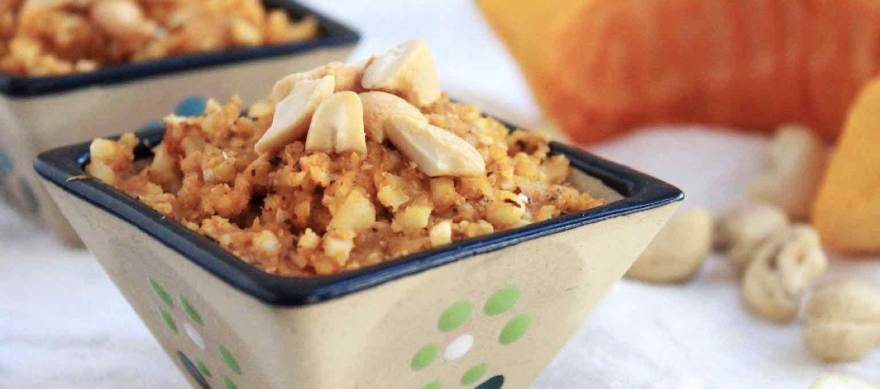 Roast Pumpkin and Cashew Dip