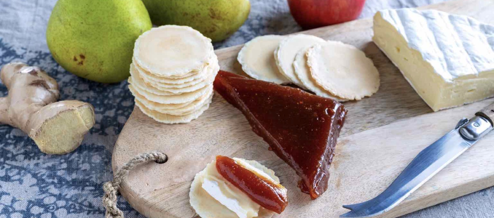 Spiced Ginger and Pear Paste