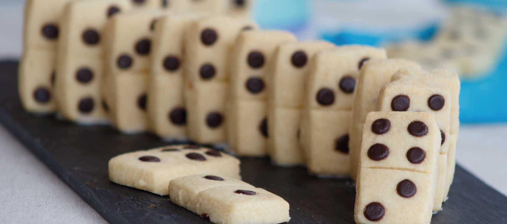 Domino Party Biscuits
