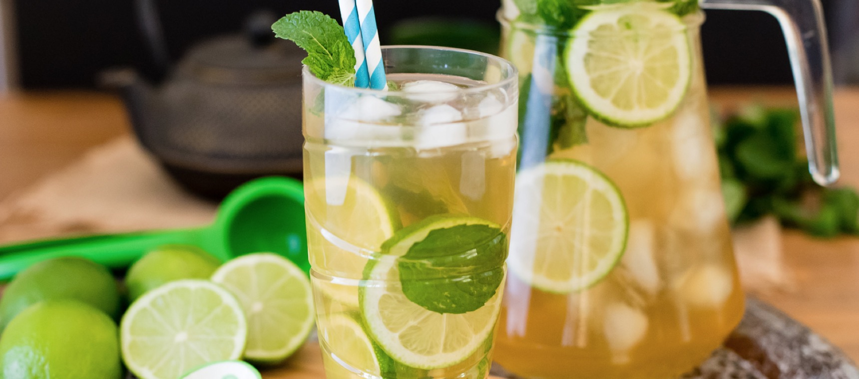 Green Tea Mojitos