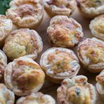 Mini Cheese and Bacon Quiches