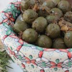 Rosemary Thyme Marinated Green Olives