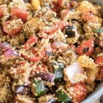 BBQ Vegetable and Couscous Salad