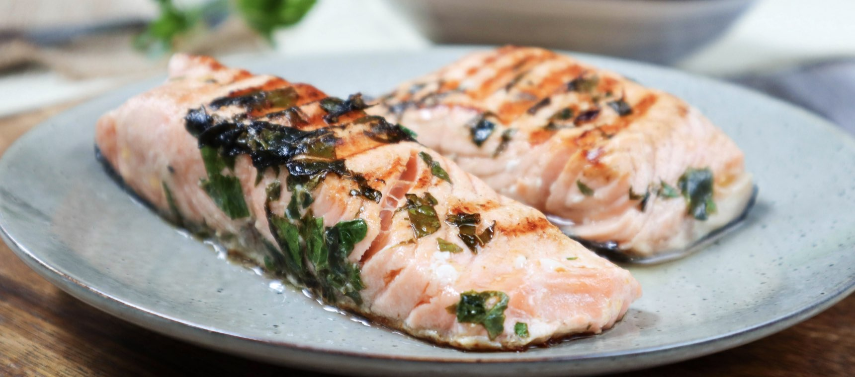 Low FODMAP Grilled Salmon