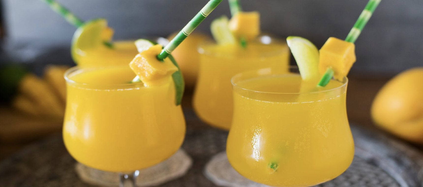 Summer Mango Coolers