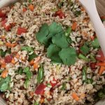 Zesty Brown Rice Salad